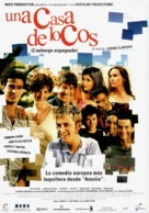L'auberge espagnole - Spanish Movie Poster (xs thumbnail)