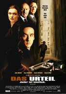 Runaway Jury - German Movie Poster (xs thumbnail)