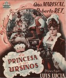 Princesa de los ursinos, La - Spanish Movie Poster (xs thumbnail)