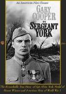 Sergeant York - DVD movie cover (xs thumbnail)