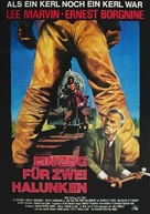 Emperor of the North Pole - German Movie Poster (xs thumbnail)