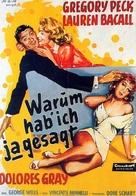 Designing Woman - German Movie Poster (xs thumbnail)