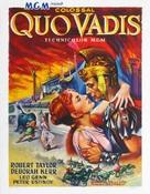 Quo Vadis - Belgian Movie Poster (xs thumbnail)