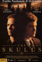 The Skulls - Italian Movie Poster (xs thumbnail)