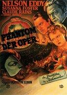 Phantom of the Opera - German Movie Poster (xs thumbnail)