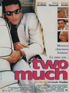 Two Much - French Movie Poster (xs thumbnail)