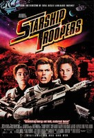 Starship Troopers - Video release movie poster (xs thumbnail)