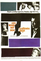 The Man with the Golden Arm - German Movie Poster (xs thumbnail)