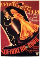 Top Hat - Spanish Movie Poster (xs thumbnail)