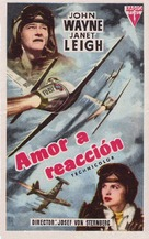 Jet Pilot - Spanish Movie Poster (xs thumbnail)