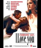 Everyone Says I Love You - Dutch DVD movie cover (xs thumbnail)