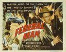 Federal Man - Movie Poster (xs thumbnail)