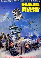 Haie und kleine Fische - German Movie Poster (xs thumbnail)