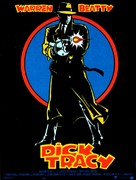 Dick Tracy - French Movie Poster (xs thumbnail)