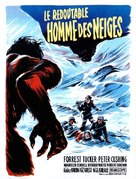 The Abominable Snowman - French Movie Poster (xs thumbnail)