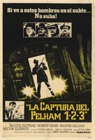The Taking of Pelham One Two Three - Argentinian Movie Poster (xs thumbnail)