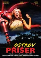 Monster Island - Czech DVD movie cover (xs thumbnail)
