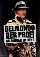 Le professionnel - German Movie Poster (xs thumbnail)