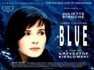 Trois couleurs: Bleu - British Movie Poster (xs thumbnail)