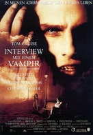 Interview With The Vampire - German Movie Poster (xs thumbnail)
