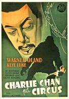 Charlie Chan at the Circus - Swedish Movie Poster (xs thumbnail)