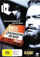 Mr. Arkadin - Australian DVD cover (xs thumbnail)