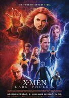 Dark Phoenix - German Movie Poster (xs thumbnail)