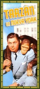 Tarzan's New York Adventure - Spanish Movie Cover (xs thumbnail)
