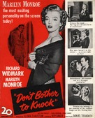 Don't Bother to Knock - Movie Poster (xs thumbnail)