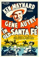 In Old Santa Fe - Re-release movie poster (xs thumbnail)