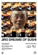 Jiro Dreams of Sushi - Dutch DVD cover (xs thumbnail)
