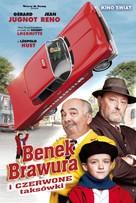 Benoît Brisefer: Les taxis rouges - Polish Movie Poster (xs thumbnail)