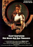 Every Which Way But Loose - German Movie Poster (xs thumbnail)