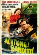 Achtung! Banditi! - Italian Movie Poster (xs thumbnail)