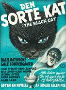 The Black Cat - Danish Movie Poster (xs thumbnail)