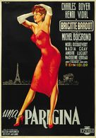 Une parisienne - Italian Movie Poster (xs thumbnail)