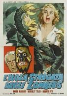 Voodoo Island - Italian Movie Poster (xs thumbnail)