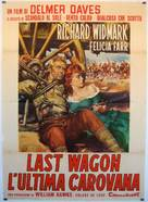 The Last Wagon - Italian Movie Poster (xs thumbnail)