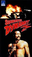 Black Gunn - German VHS movie cover (xs thumbnail)