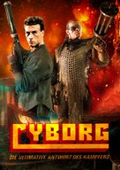 Cyborg - German Movie Poster (xs thumbnail)