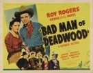 Bad Man of Deadwood - Movie Poster (xs thumbnail)