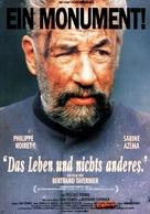 Vie et rien d'autre, La - German Movie Poster (xs thumbnail)