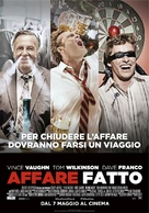 Unfinished Business - Italian Movie Poster (xs thumbnail)
