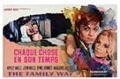 The Family Way - Belgian Movie Poster (xs thumbnail)