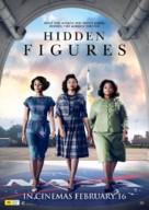 Hidden Figures - Australian Movie Poster (xs thumbnail)
