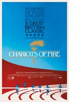 Chariots of Fire - British Re-release poster (xs thumbnail)