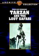 Tarzan and the Lost Safari - DVD cover (xs thumbnail)