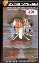 A Nightmare On Elm Street 3: Dream Warriors - Finnish VHS movie cover (xs thumbnail)