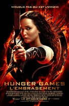 The Hunger Games: Catching Fire - French Movie Poster (xs thumbnail)