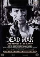 Dead Man - Spanish DVD movie cover (xs thumbnail)